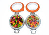 Skittle and Smartie (londonlass16) Tags: 17365 365 skitttleandsmartie 365the2017edition 3652017 day17365 17jan17 choice choose selection kilnerjars sweets confectionery skittles smarties indoor whitebackground bright colourful