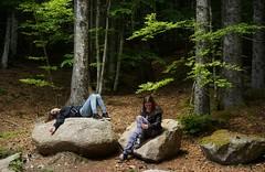 DifferentWaysOfTakingABreak (BphotoR) Tags: wald schwarzwald forest may mai break pause takingabreak