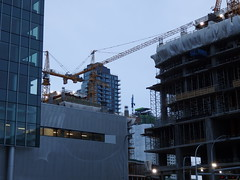 Downtown Construction: January 14, 2017 (brenGT2) Tags: edmonton downtown ice district tower highrise skyscraper construction stantec jw marriott city fox ii ultima condo office apartment hotel