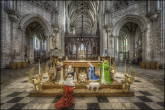 Ely Cathedral 11 (Darwinsgift) Tags: ely cathedral cambridgeshire interior hdr church carl zeiss 15mm distagon f28 nikon d810 zf photomatix christian nativity angels jesus