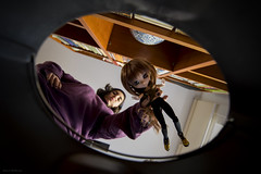 The worst nightmare of a doll #52dollyweekproject (Erla Morgan) Tags: doll pullip pullipsouseiseki souseiseki souki me erlamorgan myself groove junplanning wig obitsu bin vanishingpoint 52dollyweekproject