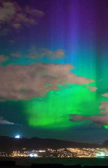 Northern Lights Over Vancouver BC (photosauraus rex) Tags: night sky northernlights auroraborealis northernlightsovervancouverbc aurora vancouver bc canada