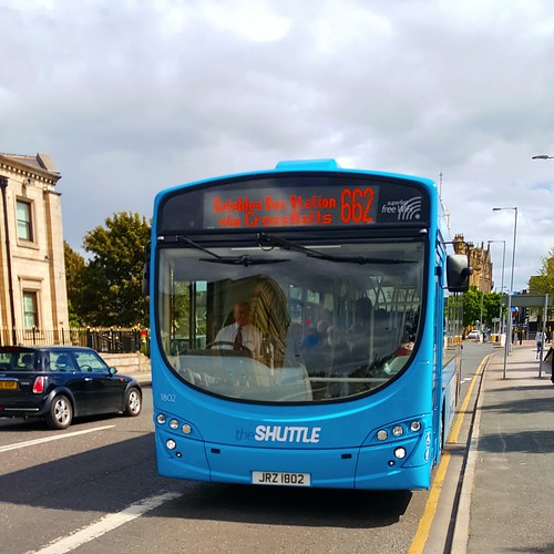 Transdev keighley 1802 with new number plate on 06/06/15