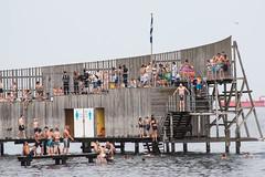 Beach life (Vibeke Sonntag) Tags: sea summer people beach water swimming copenhagen beachlife fourseasons leisure bathing kastrup damncool sneglen