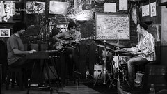@Borriquita-5 (Jina Estrada) Tags: bw espaa music byn blancoynegro canon spain livemusic jazz galicia galiza santiagodecompostela musica onstage sabado fotografa 2015 eos6d verm jinaestrada borriquitadebelem