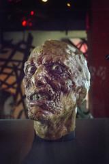 BrundleFly (ChrisM70) Tags: seattle museum movie effects washington mask exhibit scifi horror fx emp thefly jeffgoldblum