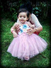 Princess (Chris C. Crowley) Tags: baby girl toddler child princess philippines adorable littlegirl tutu mckayla editbychriscrowley