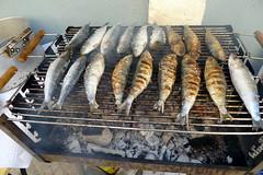 sardinhas assadas (valeriadalua) Tags: street decorations party people portugal lisboa lisbon grilled festas sardines stanthony sardinhas santoantnio festasjuninas santoantniodelisboa festasdelisboa
