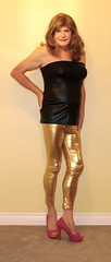 Golden girl 4 (donnacd) Tags: donna tv cd crossdressing dressing tgirl sissy tranny crossdresser crossdress ts domina feminization travesti feminized xdresser transgenre tgurl