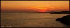 Puglia (paolotrapella) Tags: sunset italy sol soleil do sonnenuntergang coucher du tramonti colori  puestadelsol  pr