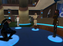 7_26_15 Varyk Master Ceremony On One Knee 12 _ Master Atlantis speaking for Var (elyssa.moonshadow) Tags: life people star starwars sl jedi second wars yavin roleplay