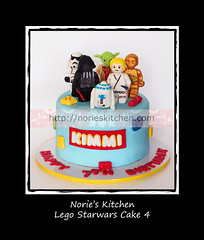 Norie's Kitchen - Lego Starwars Cake 4 (Norie's Kitchen) Tags: birthday cakes cake starwars yoda lego philippines luke celebration darth r2d2 manila vader custom cavite c3po skywalker fondant gumpaste metromanila norieskitchen