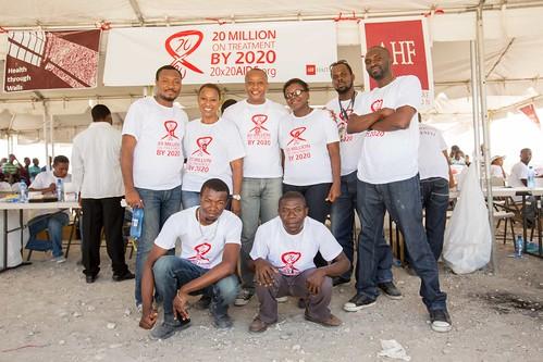AHF Medical Parade Haiti