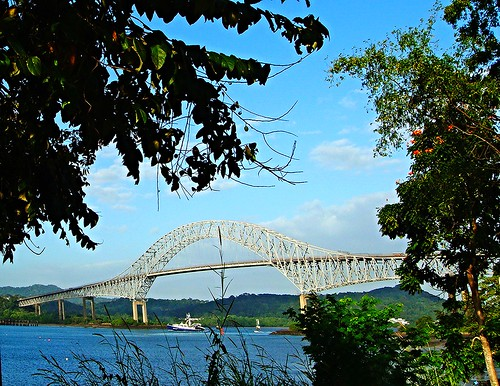 Bridge of the Americas OR Puente de las Américas OR Thatcher Ferry Bridge - Panama 02