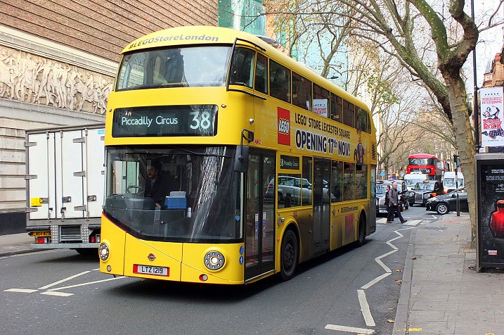 fc98467e5267 Big Yellow (Lego) Bus (crashcalloway) Tags  borisbus borismaster nbfl  newbusforlondon wrightbus
