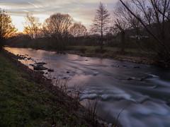 Sunset River (Niclas Matt) Tags: river water sunset colors landscape nature 1000nd nd