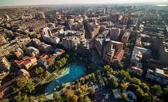 YEREVAN CITY (Lea_from_Armenia) Tags: yerevan armenian capital city vardan petrosyan armenia hayasdan bird view armenien caucasia northern avenue center kentron swan lake