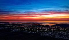 Ambleuteuse sunset