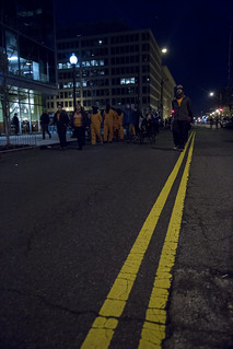 Witness Against Torture Marches Outside the Presidential Inauguration of Donald Trump