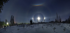 The most beautiful Moon halo i've seen so far (Mike Reva) Tags: astronomy astrophoto astrophotography astro cassiopea stars sky stargazing stillness samyang moon night nightsky nature nghtsky nightscape north winter snow