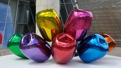 Ballons by Jeff Koons, Guggenheim!