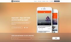 demo-14 (R_GENESIS) Tags: app landing page rgen applead themeforest premium marketing showcase