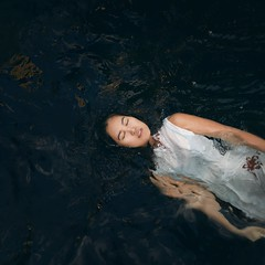 166/365 Drowning (Katrina Y) Tags: selfportrait water floating drowning surrealphotography 365project