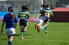 Rugby in the feminine (JOAO DE BARROS) Tags: rugby sports action joão barros