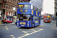 Stagecoach Manchester 8743 (A743 NNA) (SelmerOrSelnec) Tags: stagecoachmanchester magicbus leyland atlantean northerncounties a743nna manchester portlandstreet gmt bus