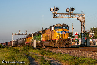 UP 4358 | EMD SD70M | UP Hoxie Subdivision