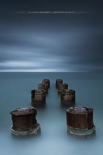 Minimalist Pier .... Theoule sur mer