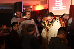 Healed by the Lord (Lawrence OP) Tags: phoenix franciscan friars holyspirit fhs arizona deacon eucharist monstrance healing adoration
