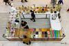 Food stall (irawlinson) Tags: food driedfruit olives nuts shop customer shopkeeper shoppingmall brentcross london
