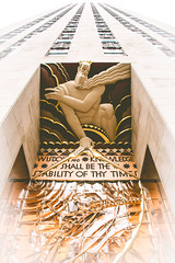 Rockefeller Greeting (Pixelglo Photography) Tags: rockefellercentre rockefeller newyorkcity newyork skyscraper nyc usa architecture building