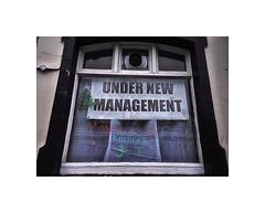 Fabulous I can't wait ;-)) (CJS*64) Tags: pub window sign advertise advert new management nikon nikkor nikonj5 j5 cjs64 craigsunter cjs craig swinton manchester colour colours glass