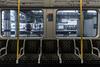 On the District Line (JB_1984) Tags: londonunderground underground tube train districtline seat window rain symmetry actontownstation acton londonboroughofealing london england uk unitedkingdom