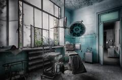 Doctor Mariacomio room... (ElfeMarie) Tags: hopital manicomio dir abandonné abandoned lost creepy decay urbex decayed decrepit forgotten italy italia italie asile hospital