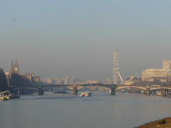 River East From Vauxhall (Loz Flowers) Tags: london lambeth vauxhall riverthames thames londoneye