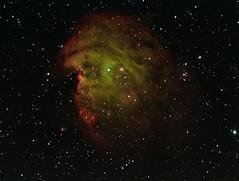 Monkey Head nebula (John Napper) Tags: ngc2174 monkeyheadnebula