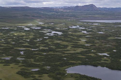 View from Vindbelgjarfjall, 13.07.2016.
