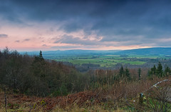 Claybank Panorama. (paul downing) Tags: pauldowning pd1001 pauldowningphotography nikon d7200 sunrise claybank clevelandhills roseberrytopping northyorkshire northyorkshiremoors greatbroughton panorama hitech gnd 12 filters topf252549faves