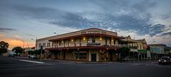 Royal Exchange Hotel (Serendigity) Tags: outback historic nsw street newsouthwales roadtrip city hotel brokenhill australia mining dusk