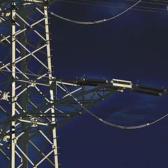 Power Pole (a.penny) Tags: power pole strommast square quadrat 1x1 500x500 nikon d300 apenny