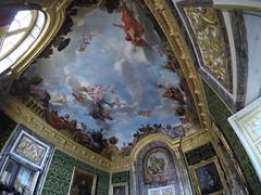 Roof painting, Versailles!