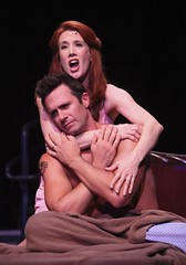 Misty Cotton as Ellen and Eric Kunze as Chris in Miss Saigon at Music Circus August 23-28. Photo by Charr Crail.