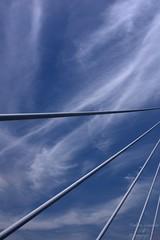 Sky Ropes (fs999) Tags: bridge blue sky france paintshop pentax himmel bleu ciel pont paintshoppro 40mm xs blau midi brücke k5 pyrénées millau corel viaduc aficionados pentaxist da40 artcafe 80iso pentaxian ashotadayorso justpentax topqualityimage zinzins flickrlovers topqualityimageonly fs999 fschneider pentaxart da40xs pentaxda40mmf28xs pentaxk5iis k5iis paintshopprox7ultimate x7ultimate