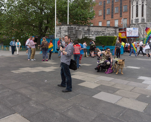 DUBLIN 2015 LGBTQ PRIDE FESTIVAL [PREPARING FOR THE PARADE] REF-106213