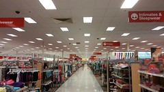 Center Aisle (Retail Retell) Tags: sc retail store neon lexington style signage target latest dcor 2000s p13 centeraisle p04 t2277 halfremodeled halfbullseye