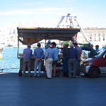 "Fishermen Selling the Day's Catch in the Port <a style=""margin-left:10px; font-size:0.8em;"" href=""http://www.flickr.com/photos/14315427@N00/19323962016/"" target=""_blank"">@flickr</a>"