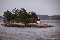 Lighthouse In the the Swedish Archipelago
